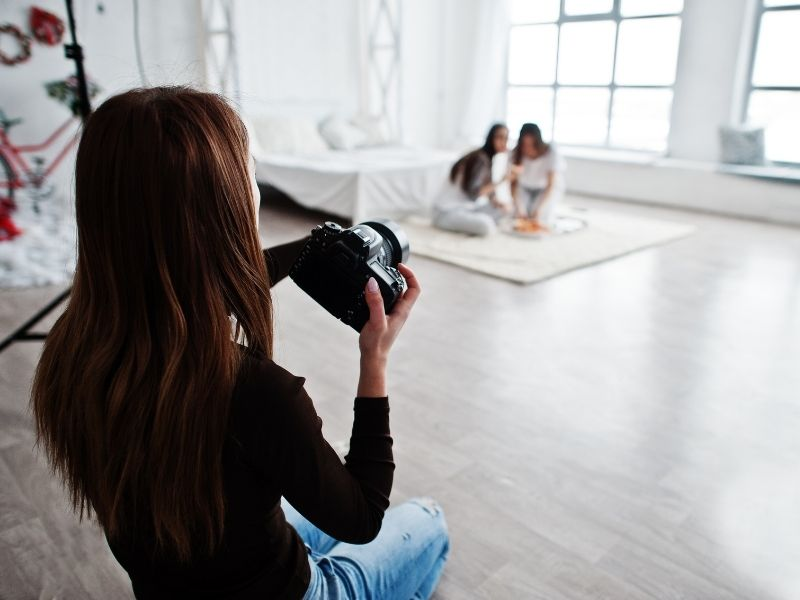 fotografo di bambini